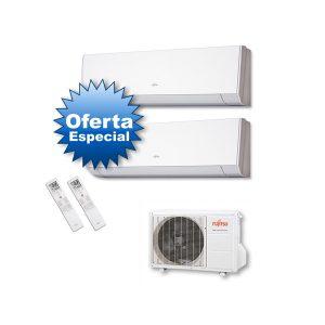 Oferta Aire Acondicionado Fujitsu 2x1 ASY3535